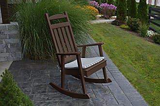 A & L Furniture A & L Furniture Poly Classic Rocker Chair, Tudor Brown