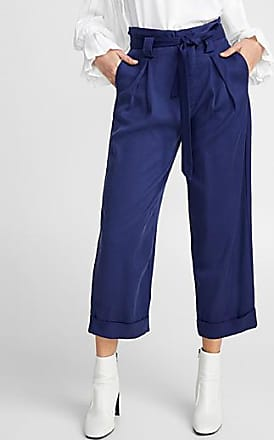 Icone Lyocell paper-bag pant