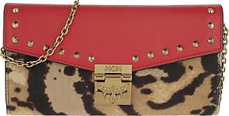 MCM Umhängetasche Patricia Leo Large Wallet Chain Ruby Red in bunt für Damen