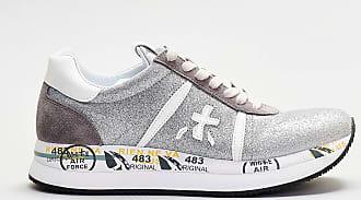 Premiata sneaker laserata - bianco