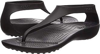 Crocs Serena Flip (Black/Black) Womens Sandals