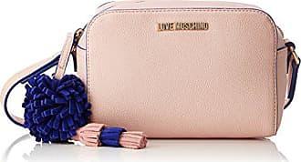 Love Moschino Borsa Small Grain Pu Rosa - Borse Baguette Donna 3c25cdb4d73