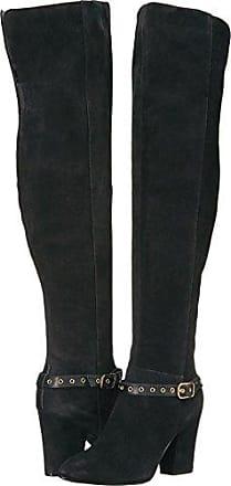 41836adcfbb65 Nine West Womens Sandor Knee High Boot, Black Suede, 5 Medium US