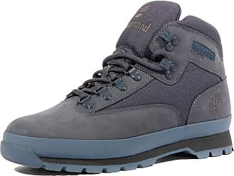 d973b286b3c Timberland Euro Hiker hiking shoe Men Mid Fabric and Leather blue Size 43  2016 hiking shoe