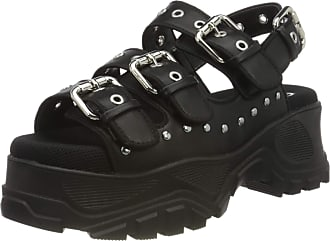 Buffalo Gldr Ob, Womens Ankle-Strap Sandals, Black (Black 000), 3.5 UK (36 EU)