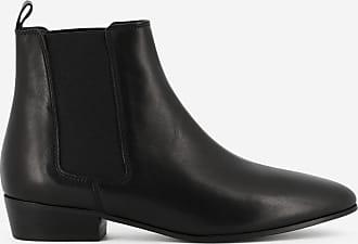 Rivecour Boots Rivecour 66 cuir Noir WIxSWnXf7d