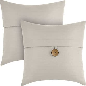 Better Homes & Gardens Feather Filled Banded Button Decorative Throw Pillow - Set of 2 Orange - A91752EC645D40819F7DFC1FB67EA88C