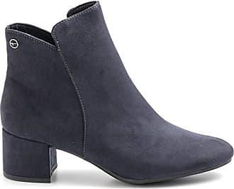 Tamaris Damen Lederstiefel in Blau | Stylight