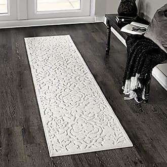 Orian Rugs Boucle Cottage Floral Natural Runner Rug, 111 x 76, Ivory