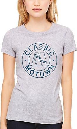 AWDIP Official Motown Classic Circle Womens T-Shirt Grey