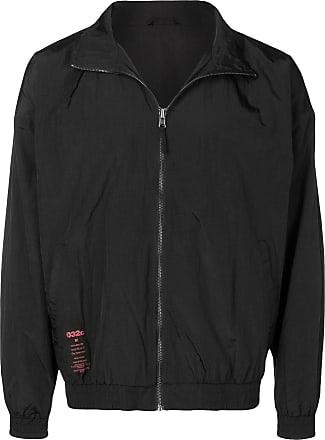 032c contrast patch jacket - Black