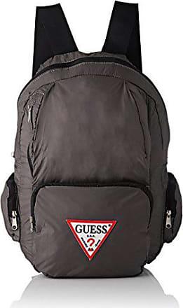 Guess Bags Backpack, Sacs à dos homme, Gris (Grey), 18x44x28 cm 183ff11d52c5