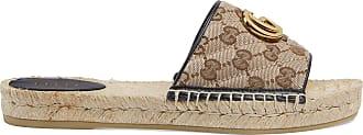Gucci Damen-Espadrille aus GG Canvas mit Matelassé