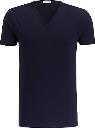 Zimmerli T-Shirt PURE COMFORT - DUNKELBLAU