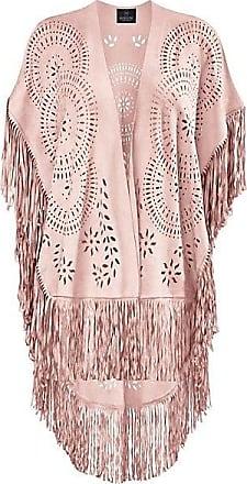 Madeleine Poncho Damen rosé / rosa