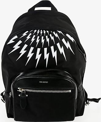 Neil Barrett Backpack CLASSIC with Thunderbolt Print size Unica