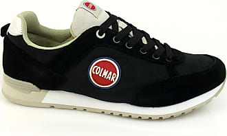 new concept c70ac 35f05 Colmar Travis Colors 305 sneakers camoscio uomo TESSUTO PELLE BLACK ICE NERO