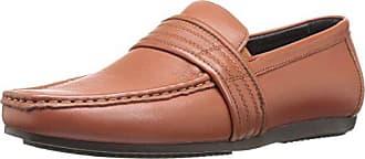 Zanzara Mens Van Eyck Slip-On Loafer, Brown, 10 M US