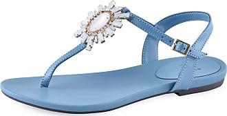 La Femme Sandália Flat La Femme Paloma Azul 37