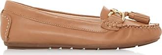 Dune London Dune Ladies Womens Geena Tassel Detail Moccasin Loafer Size UK 6 Tan Flat Heel Moccasins