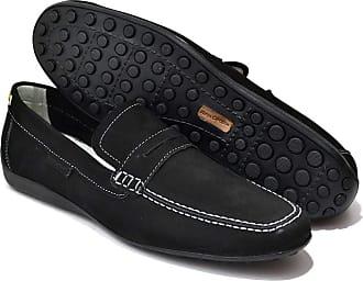 Di Lopes Shoes Mocassim Masculino em100% Couro (42, Preto)