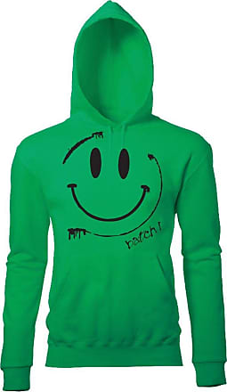 BATCH1 SMILEY ACID FACE MENS RETRO CHIC FESTIVAL PRINTED SWEATSHIRT JUMPER