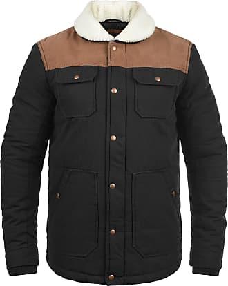 Solid Ferdinand Mens Winter Jacket, size:L, colour:Black (9000)