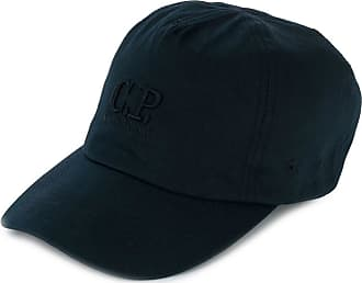 C.P. Company embroidered logo baseball cap - Azul