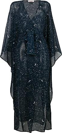 Gilda & Pearl Luna kaftan dress - Azul