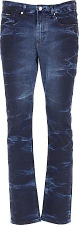 A X Armani Exchange Jeans On Sale in Outlet, Indigo Blue Denim, Cotton, 2019, 29 30 31 32 33 34