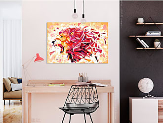 Artgeist home24 Tableau déco Abstract Lion