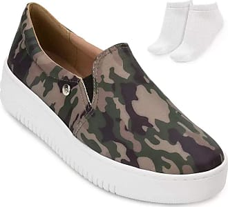 Via Marte Slip On Camuflado Via Marte e Meia Vm19-1818