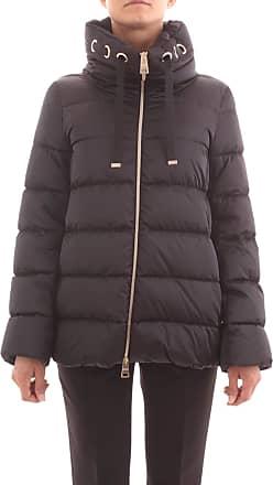 Herno PI1125 12170 Womens Jacket and Jacket - Black - UK 14