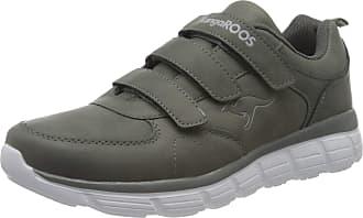 Kangaroos Womens Kr-arla V Sneaker, Steel Gray, 5 Child UK