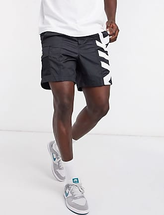 Nike Polyknit short met logo in zwart