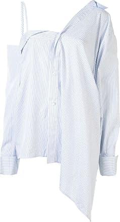 Ground-Zero Camisa ombro a ombro - Azul