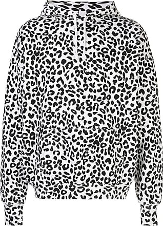 Noon Goons Moletom oversized com estampa de leopardo - Branco