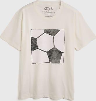 Reserva Mini Camiseta Reserva Mini Infantil Futebol Off-White