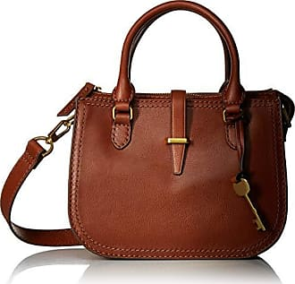 Fossil Womens Ryder Mini Satchel Brown