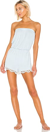 Splendid Sleep Romper in Blue
