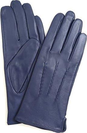 Damen Damen Weich Wildleder Handschuhe mit Warm Fleece Futter und Stich-Design