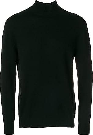 N.Peal turtleneck fine-knit jumper - Black