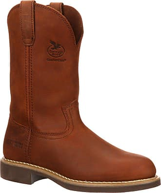 Georgia Boot Carbo-Tec Wellington Work Boots | Prairie Chestnut | 8.5