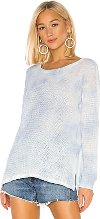 Splendid Cloud Wash Pullover in Baby Blue