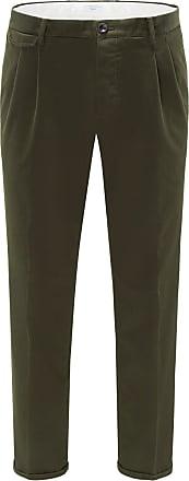 Pantaloni Torino Baumwollhose Style 02 oliv bei BRAUN Hamburg