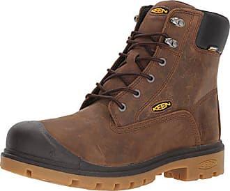 Keen Mens Baltimore 6 Soft Toe Waterproof Industrial Boot, Brown, 8.5 D US