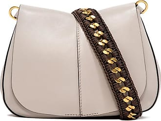 Gianni Chiarini medium size helena round habibi shoulder bag color white