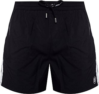 Balmain Shorts With Logo Mens Black