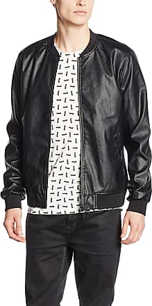 Only & Sons Only and Sons Mens Jerrod Jacket, Black, X-Large