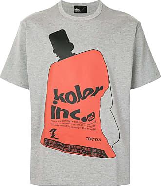 Kolor logo print T-shirt - Grey